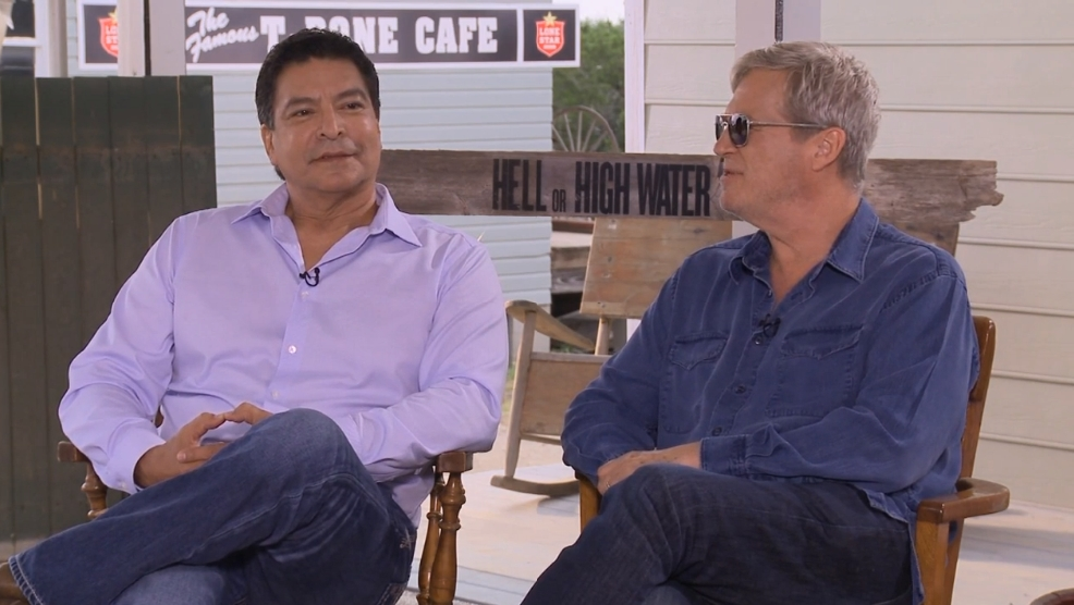 Musical bonds: Jeff Bridges and Gil Birmingham on brotherhood in 'Hell or High Water'