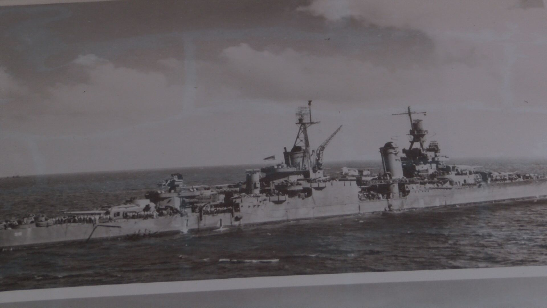 The battleship USS Indianapolis performed a top secret mission before it was sunk: delivering the components of the atomic bomb that was dropped on Hiroshima. (Thomas Gray/WCYB)