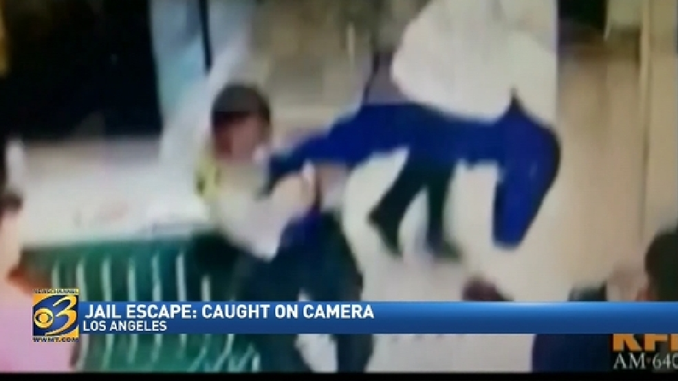 Video of jail escape leaked   WWMT