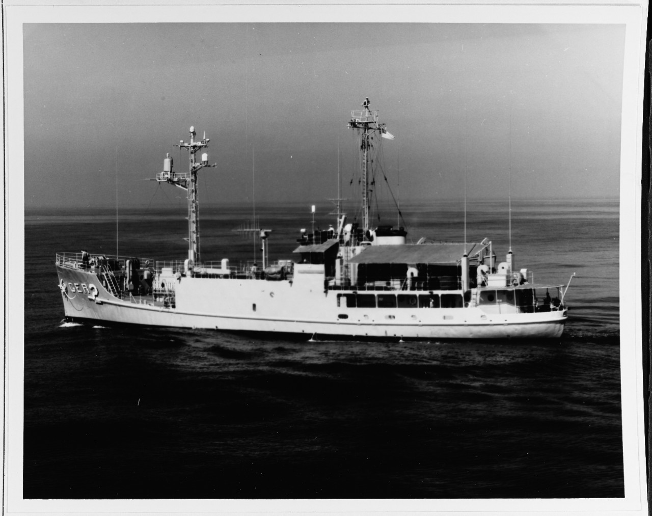 Off San Diego, California, 19 October 1967. Official U.S. Navy Photograph