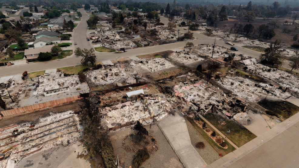 City Of Redding Carr Fire Map.Interactive 360 Degrees Aerial Map Shows Which Structures Burned In