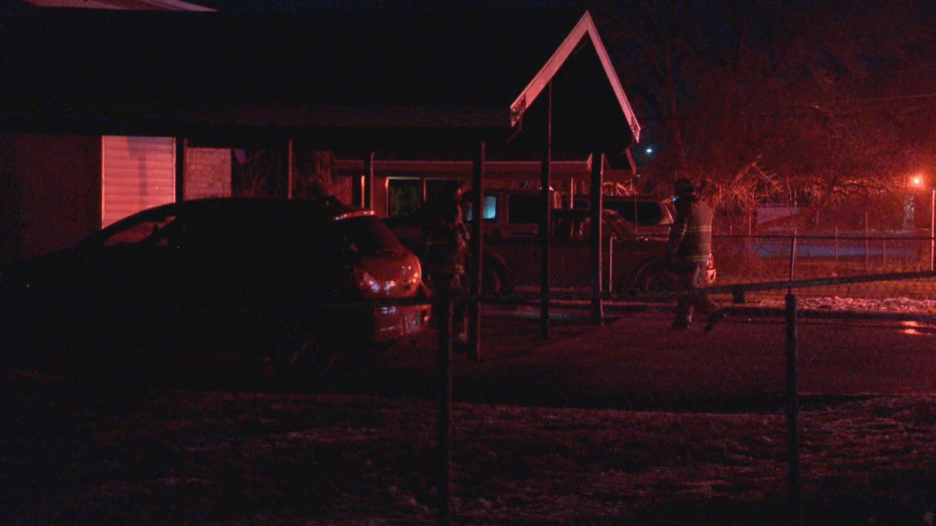 West Valley house fire starts from unattended candle while family steps away . (Photo:{ }Jeremy Castellano/ KUTV)