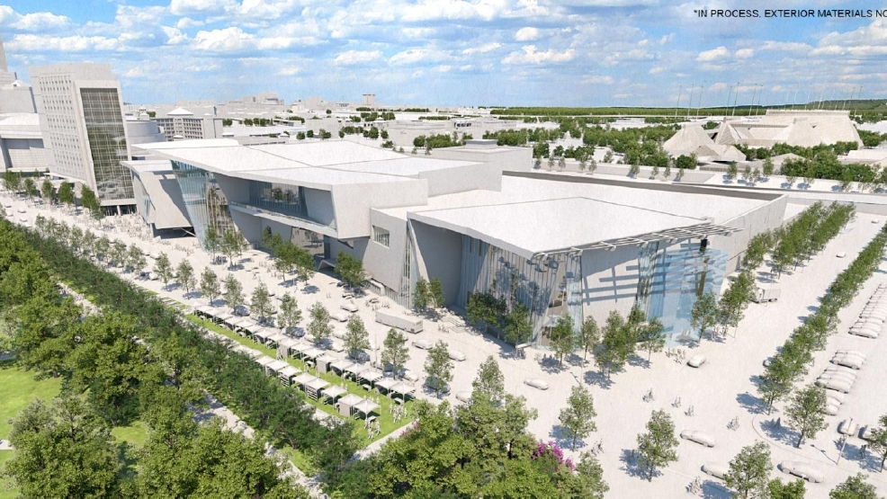 SHAPING UP: Oklahoma Citys new convention center is about