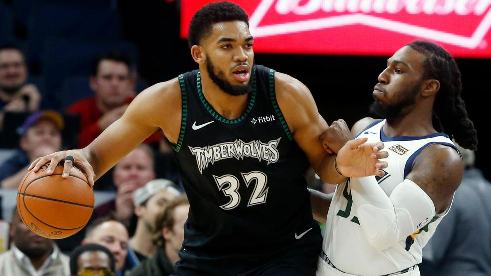 1b244ac0e770 Rose scores career-high 50 as Timberwolves top Jazz 128-125