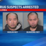 Drug suspects arrested after sending 23 pounds of marijuana through mail