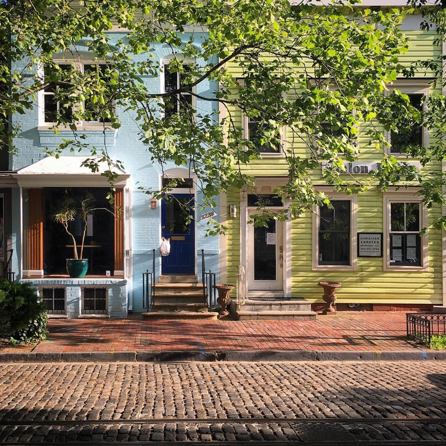 PLACE: Georgetown, Washington, DC / MILES FROM CINCY: 500 / ABOUT: But as long as we're on the subject, Georgetown is eye-catching in its own right. And t's home to the house JFK lived in while running for president (address: 2706 Olive Street). Not bad, eh? / Image courtesy of Instagram user @mnorthstar82 // Published: 5.14.17