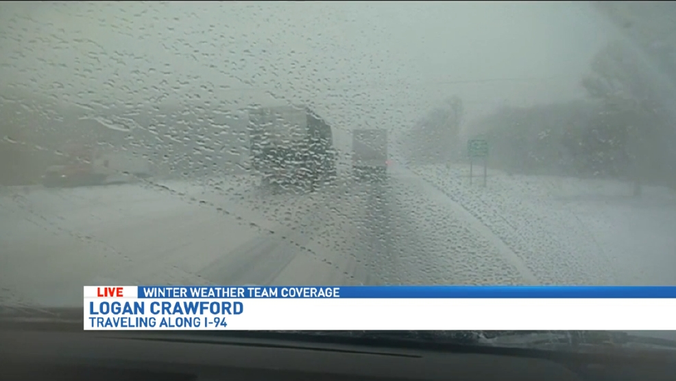 Live look at conditions on I-94 | WWMT