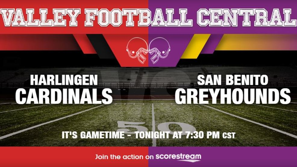 Listen Live: Harlingen Cardinals at San Benito Greyhounds