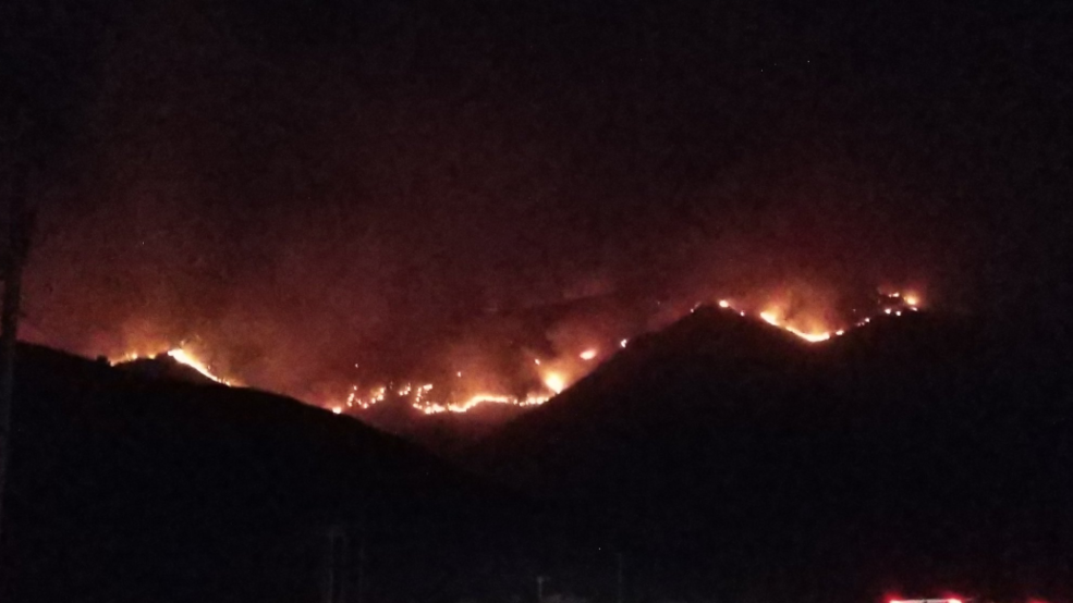 Firefighters working to contain blaze on West Mountain in Utah County
