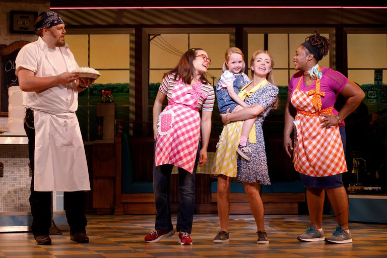 "Six-time Grammy nominee and composer of WAITRESS, Sara Bareilles, will be at the National Theatre to host ""Cast Album Karaoke"" following the 8 p.m. show on Saturday May 19. (Image: Joan Marcus)"
