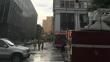 Firefighters respond to reports of lightning damaging downtown building, museum Monday