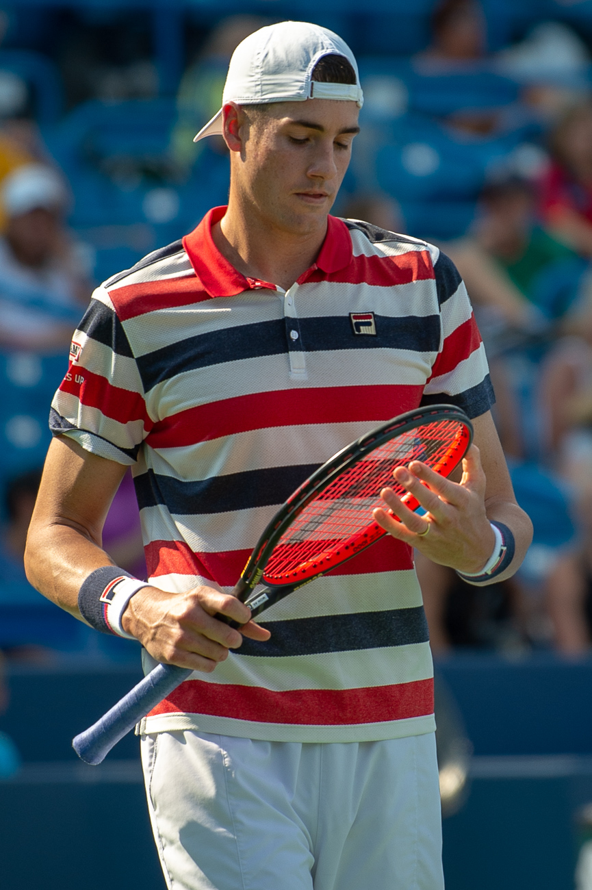 John Isner{ }/ Image: Chris Jenco // Published: 8.14.18