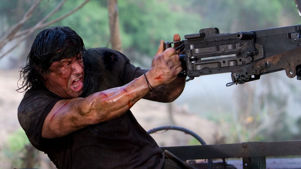 rambo essay John rambo spent the 1980s knifing, booby-trapping, and exploding his way into  the american consciousness but to resurrect this killer of a.