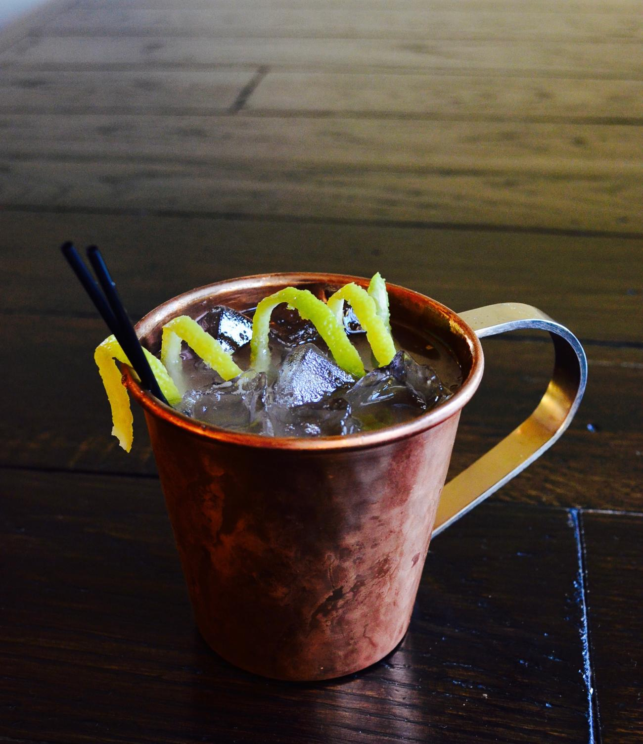Moscow Mule / Image: Leah Zipperstein, Cincinnati Refined // Published: 1.2.17