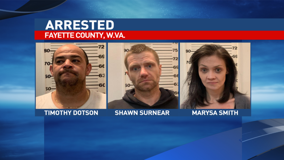 Three arrested on drug charges in Fayette County | WVAH