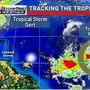 Tracking 2 Tropical Systems