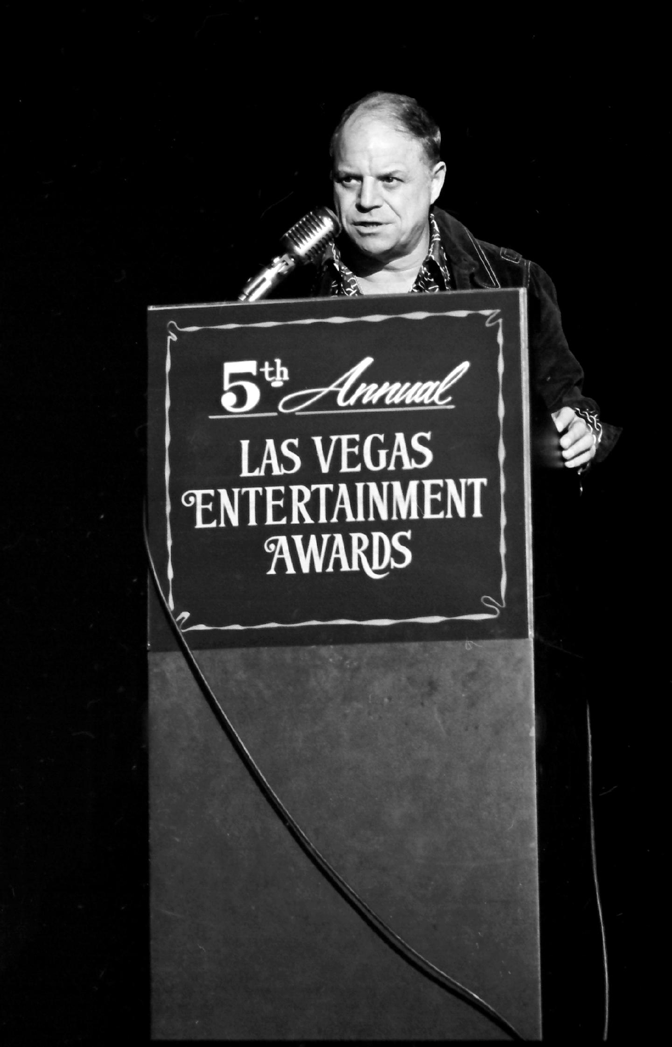Don Rickles at the Stardust on Dec.10, 1975.