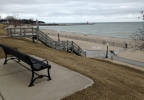 Crescent Beach overlooking Lake Michigan