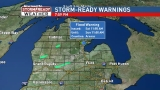 Flood Warning in effect for Arenac County