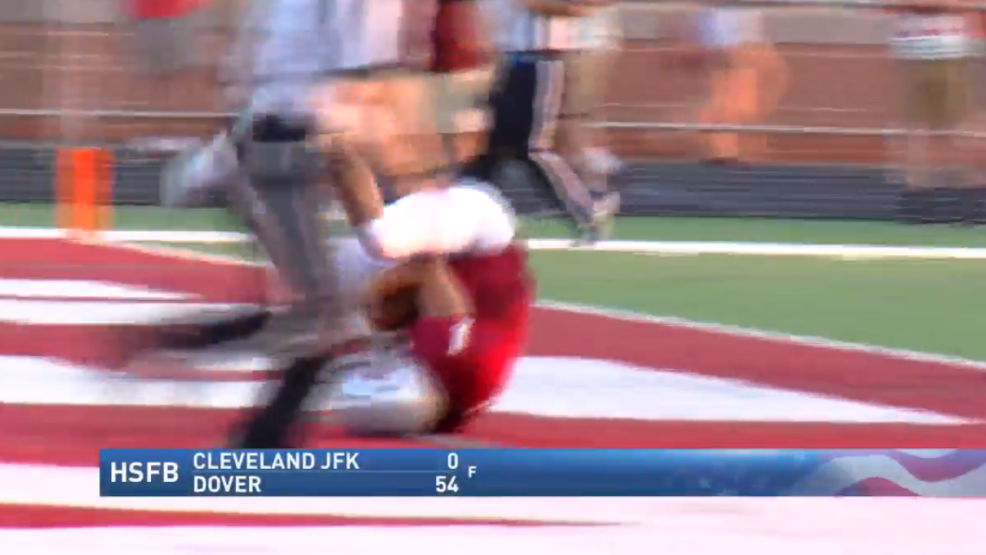 8.23.18 Highlights: Cleveland JFK at Dover