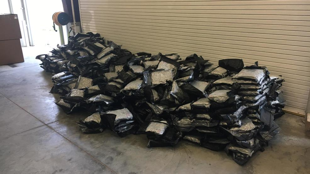 Authorities say 1,000 pounds of pot seized in Sarpy County