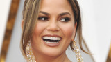 Supermodel Chrissy Teigen shows off her 'period skin'