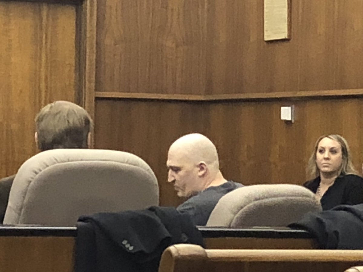 Brent Luyster appears in court on November 16, 2017<p></p>