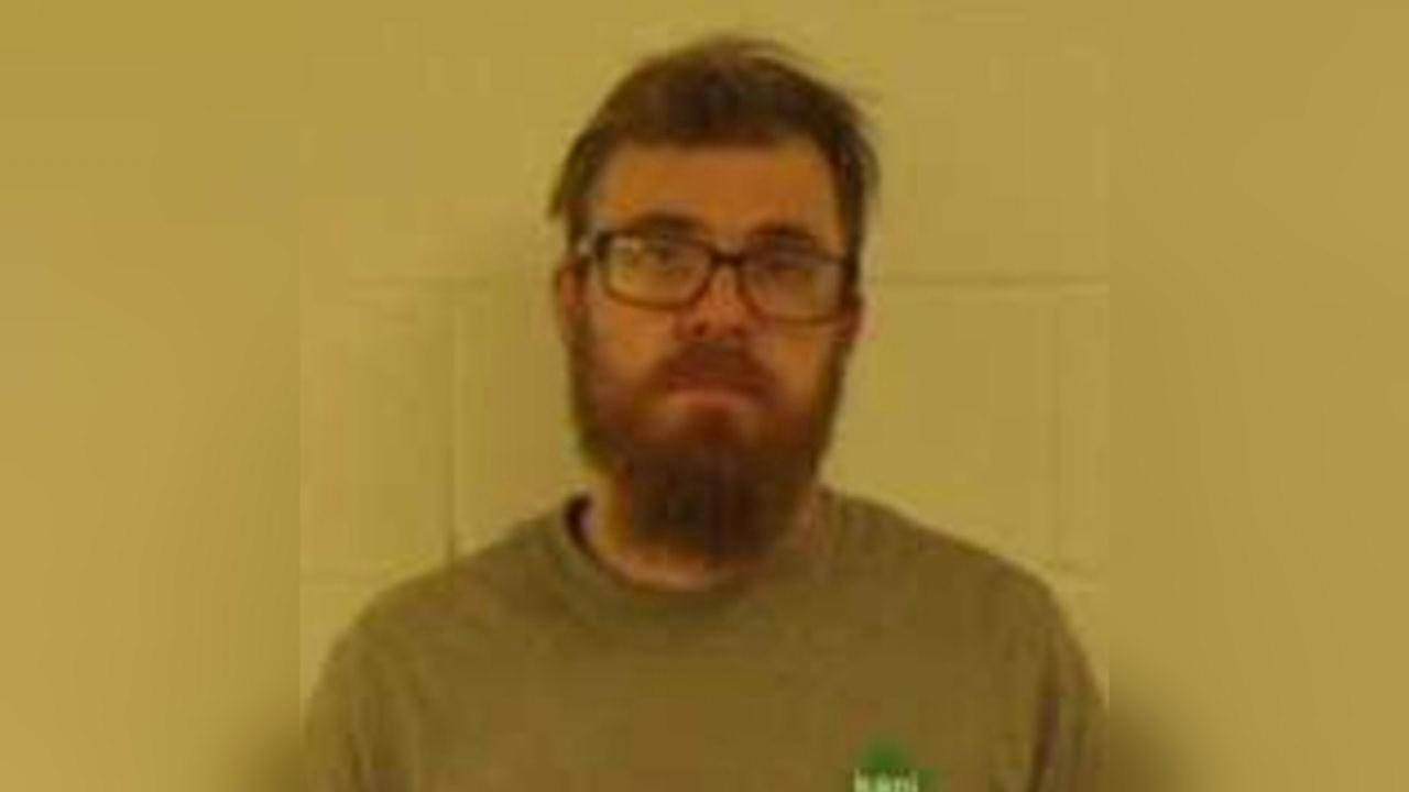 James Combs is accused of kicking and punching his dog. (Courtesy: Marysville Police Department)<p></p>