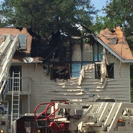 Second fire in two months destroys apartment building