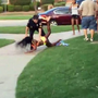 Girl pushed by Texas officer at pool party settles for $150K