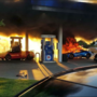Lamborghini destroyed in Missouri gas station mishap