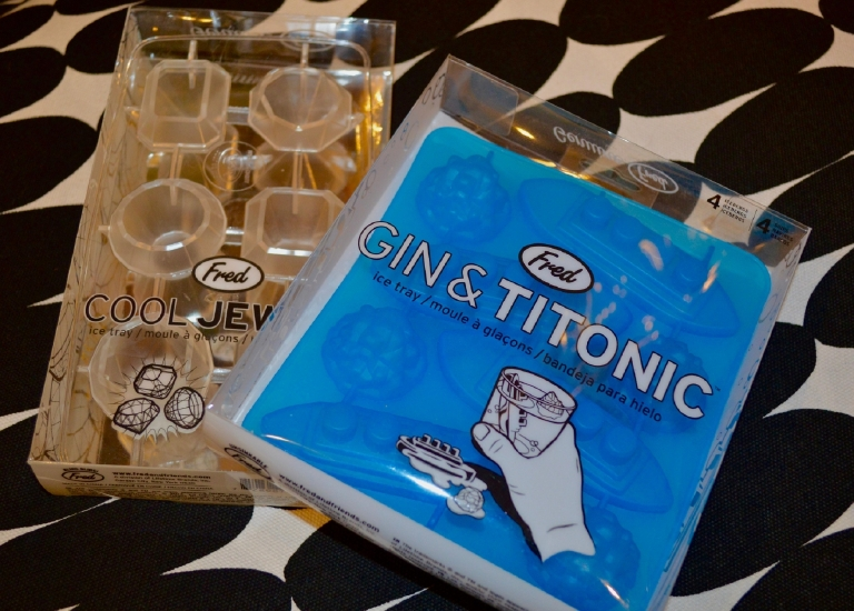 "Check out Tabletop's ""Gin and Titonic"" ice trays for $10 (Image: Samantha Shapin)"