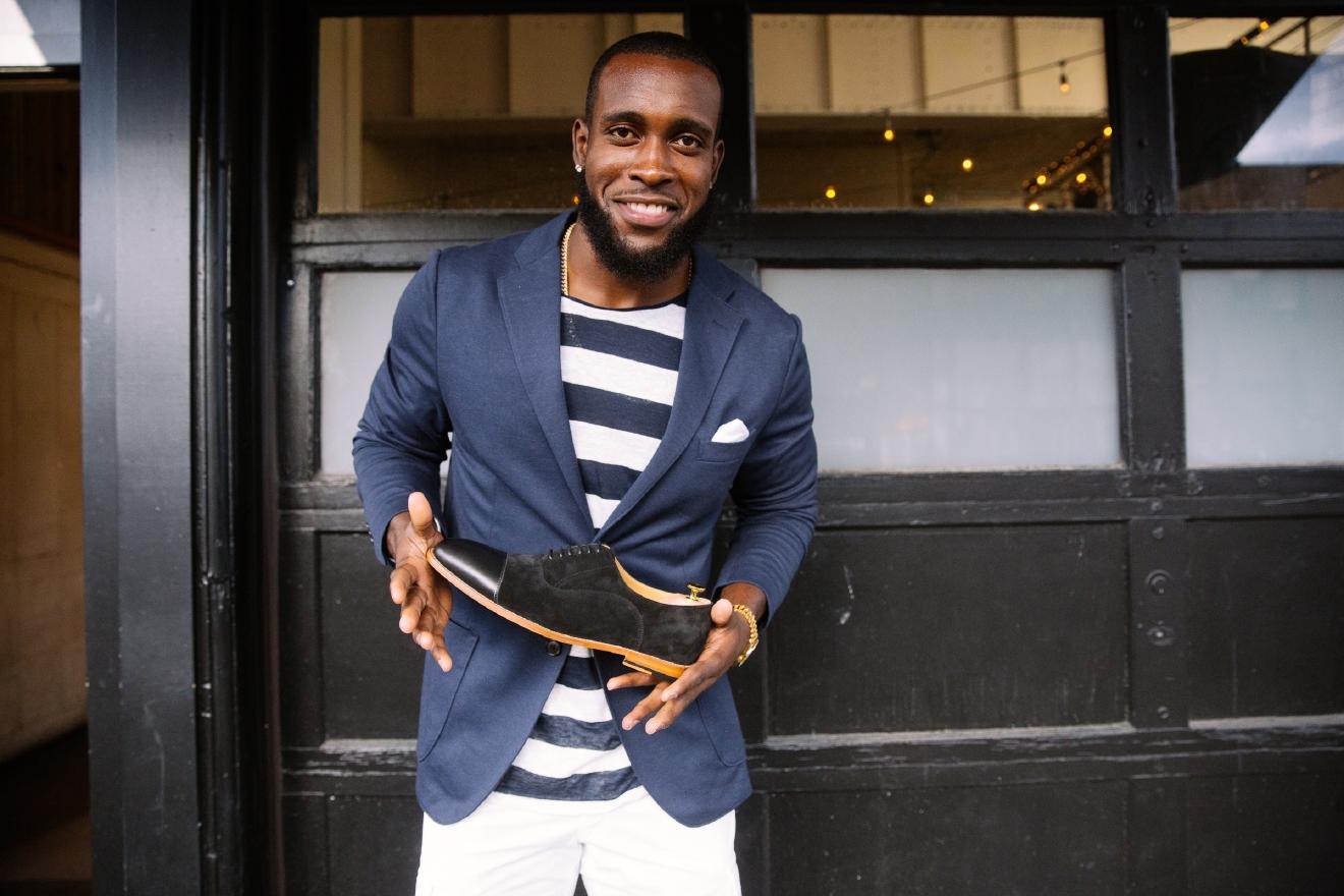 s Seahawks Kam Chancellor launches men s designer shoe line