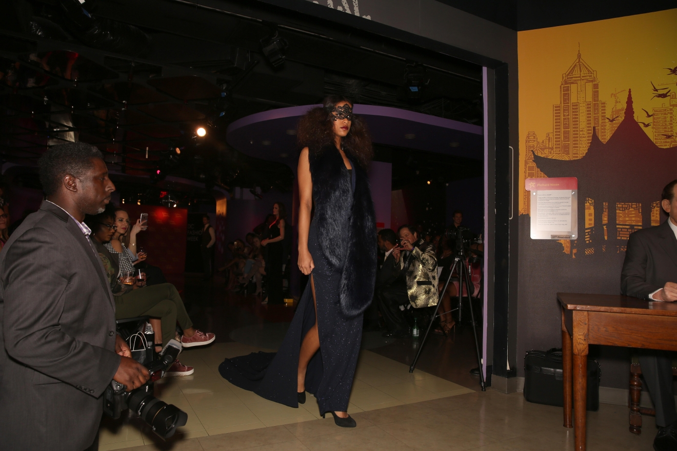 D.C. gets a bad rap when it comes to fashion, but this year's fashion week attracted A-list celebrities - albeit wax ones. Still, Ean Williams' collection enthralled the crowd of the DMV's most fashionable. (Amanda Andrade-Rhoades/DC Refined)