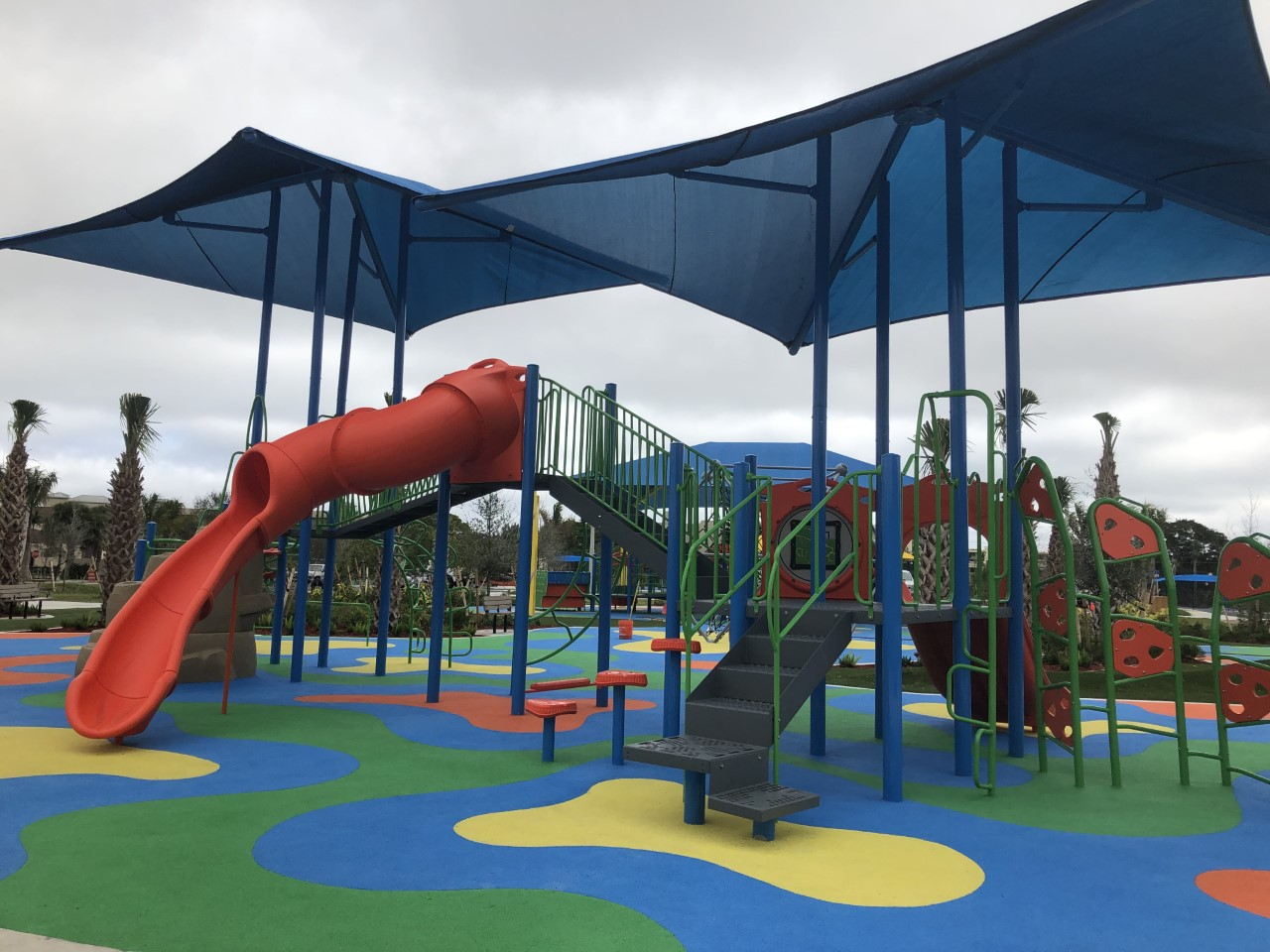 The City of Boca Raton is preparing to unveil a new multimillion-dollar park on Saturday. (WPEC)