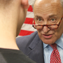 Senate Democratic Leader Chuck Schumer takes Trump tax discussion to Syracuse