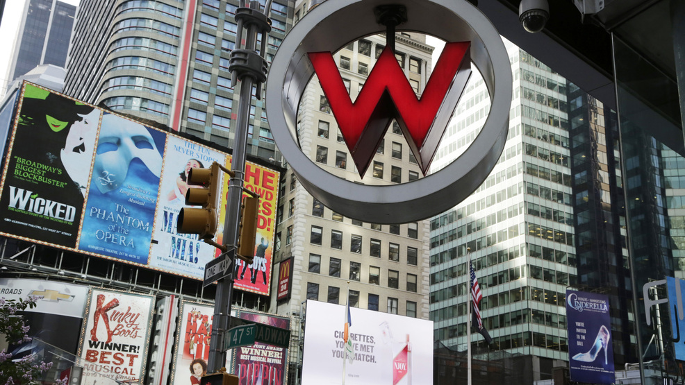 File In This Wednesday July 31 2017 Photo The Logo For W Hotel Owned By Starwood Hotels Resorts Worldwide Is Seen New York S Times