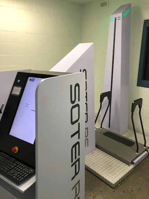 Photo of the Humboldt County Correctional Facility's new body scanner. (HCSO)