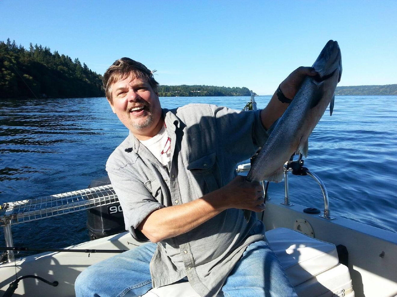 The daughter of Capt. Jeff Hathaway says he was on board F/V Destination when it went missing in Alaska over the weekend. (Photo: Hathaway family)