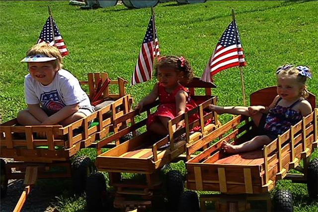 Fairview Cemetary in Linden on Memorial Day. / Rob Herman