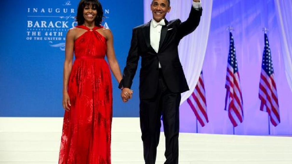 michelle obama s second inaugural gown on loan to smithsonian wjla