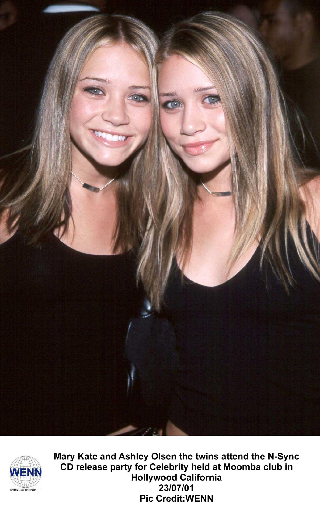 olson twins young MARY-KATE OLSEN and ASHLEY OLSEN. The twins attend the N-Sync CD