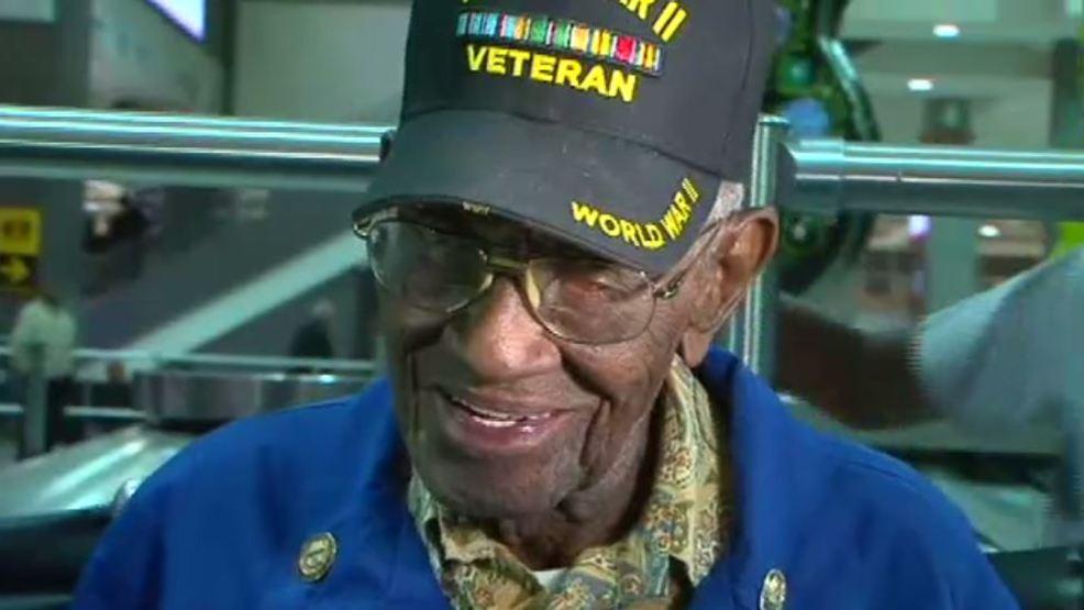 Oldest living veteran, Austinite hospitalized with ...