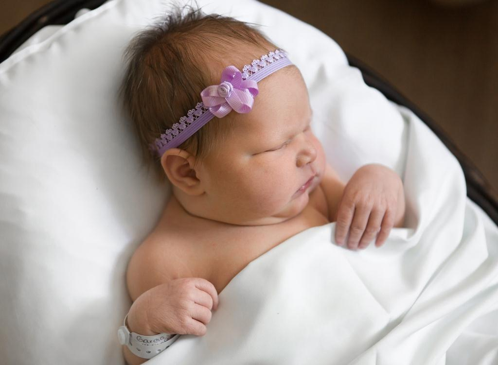 Sierra, our Baby of the Day for May 9, 2016. Photo courtesy of Palms West Hospital and Bella Baby Photography