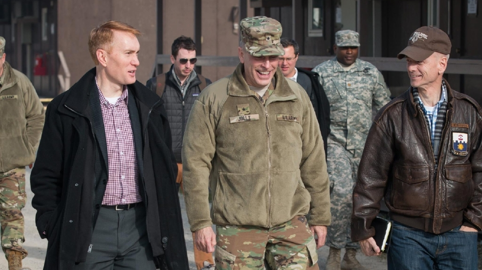 Oklahoma lawmakers visit soldiers in Kosovo | KOKH