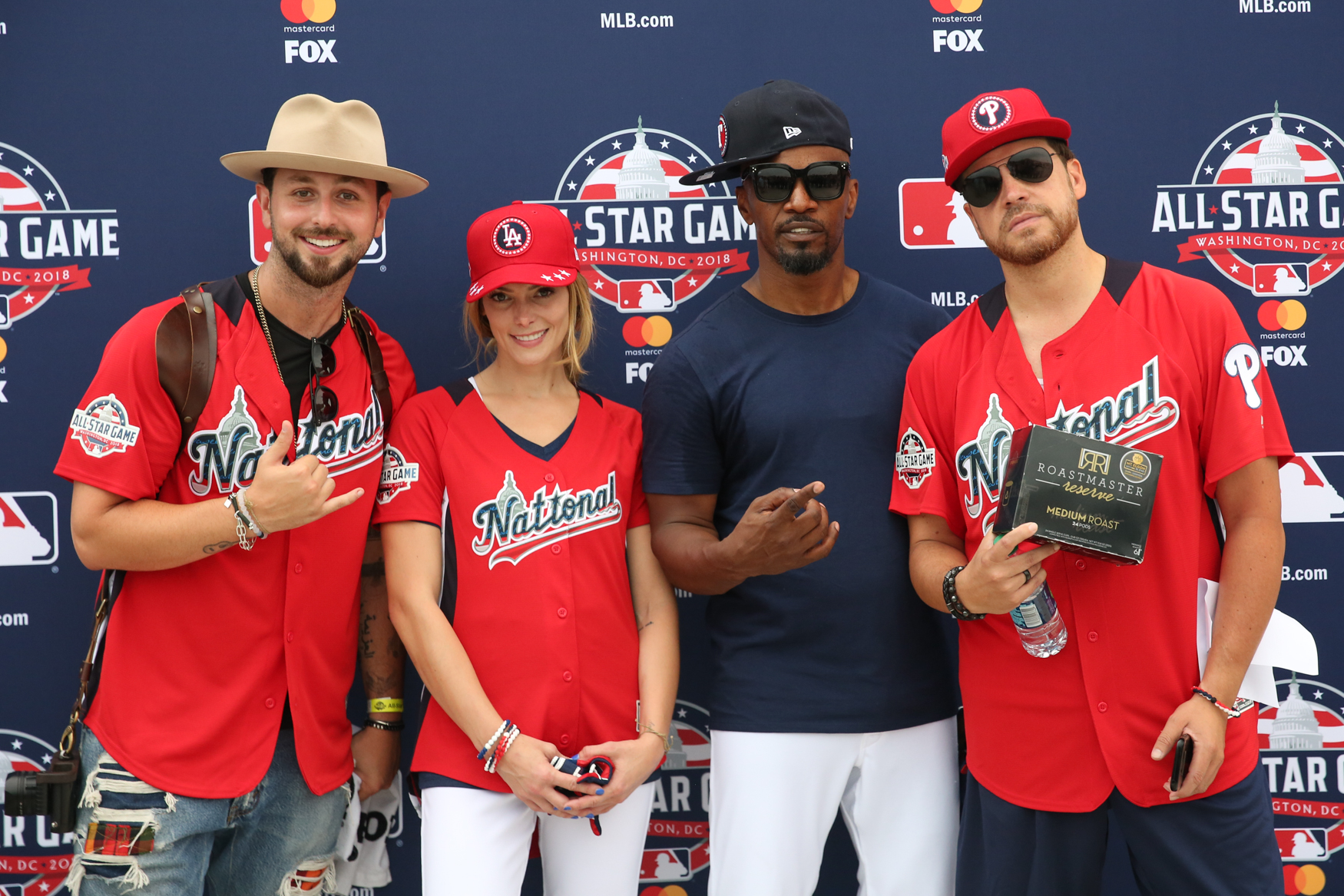 <h2>Dozens of celebrities and baseball legends came to Nats Park today for the{&nbsp;}MLB All-Star Legends & Celebrity Softball Game. The participants, who ranged from singers to Hall of Famers, were able to warm up and greet fans before the game. (Amanda Andrade-Rhoades/DC Refined)<br></h2>
