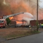 Fire destroys furniture warehouse in Martinsville