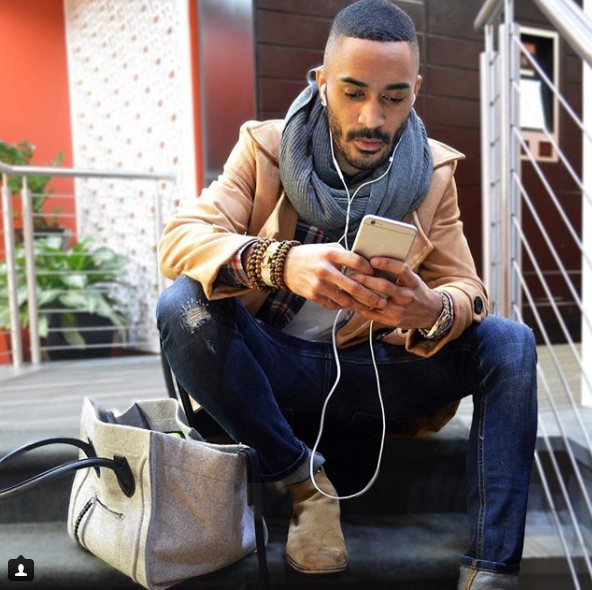 We love that Jodey can rock a classically tailored ensemble one day, and then look just as chic in a more dressed down, casual look the next. (Image: Courtesy IG user @jodeyk_starks/ www.instagram.com/jodeyk_starks/<p></p>
