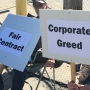 Workers Picket As Contracts Expire
