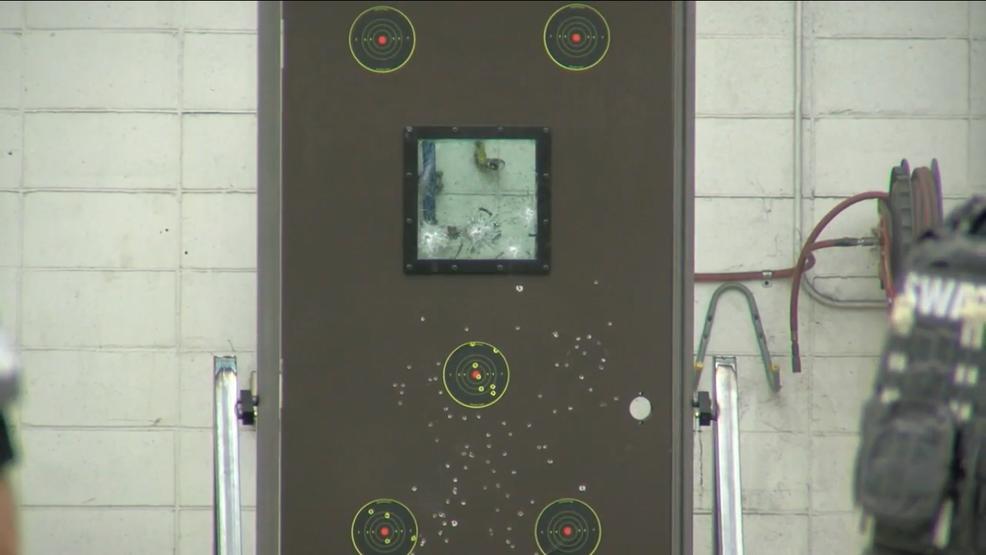 & Local Company Unveils Bulletproof Door for Classrooms | WCIV